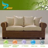 Asian Style Outdoor Furniture Wholesale Hotel Furniture Cheap Rattan Garden Sofa