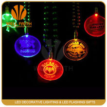 Flashing in the dark LED attractive funny nacklace