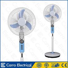 "Guangdong manufacture 16"" 12v solar battery pedestal fan best pedestal fan price"