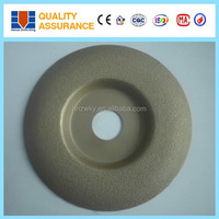 High quality brazed stamping gring disc for grinding and cutting of curved surface