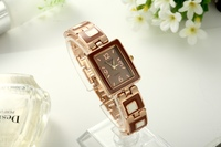 2015 New Fashion Chocolate Color Lady Wrist Watch