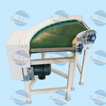 High quality curved belt conveyor Machine ISO9001