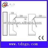 power supply 12 volt 10 amp TCP/IPstandard pedestrian tripod turnstile ,CE approved