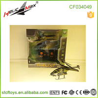 New arriving !not mini rc 3channel remote control rc ufo flying military helicopter with gyro&USB