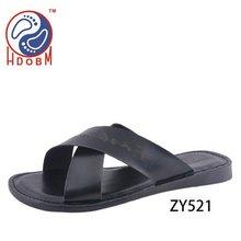 2013 fashion summer leather men's sandals
