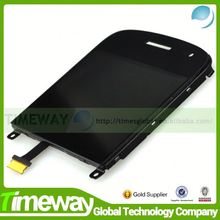 China wholesale lcd digitizer housing cell phone repair parts for blackberry 9900