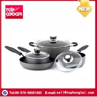 7 pcs aluminum non-stick coating sonex cookware set