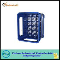 ali china plastic glass bottle crate with high quality