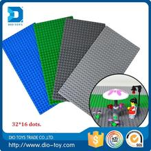 Hot selling 24*32 dots. 3 colors intelligent hui mei building block baseplate funny toys for play