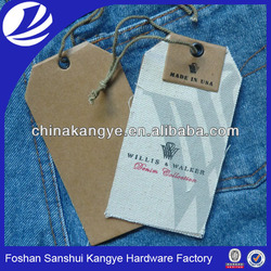 2015 Clothing tags,jeans paper hang tag,jeans labels tags LA-296