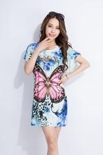 2015 fashionable short dresses for fat women