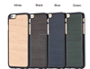 Simple Fashion Wood Pattern PC+PU Hard Case For Iphone 6 4.7 Inch