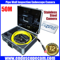 """Freeship 50m cable Pipe Wall Sewer Inspection Camera System with 7"""" monitor"""