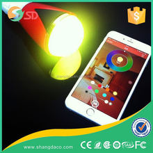 New style 2.4G Touch Screen Remote Control RGB LED Bulb,remote controlled led rgb light bulb,LED rgb bulb