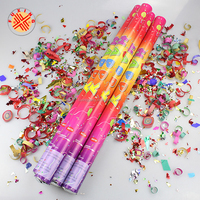 party popper decorations factory confetti party popper rose petal for party popper