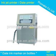 Guangzhou plastic bottle printer, bottle laser printer , water bottle label printer with CE