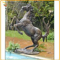 Alibaba China Water Fountain Bronze Horse Water Fountain For Outdoor Decorative