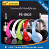 Colorful wireless sport bluetooth headphones for tv with FM radio and TF card player
