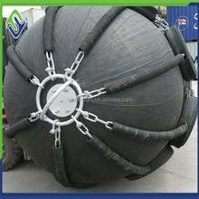 rubber marine fender floating fender export to Batam shipyard