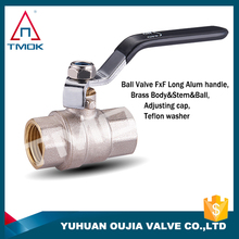 brass manifolds with ball valves with control valve and gas valve with threaded