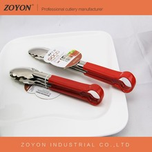 Hotel and restaurant stainless steel buffet tongs