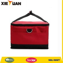 2015 Quanzhou sedex bags factory pizza insulated cooler bag