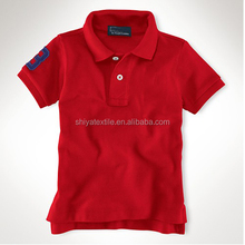 pupil uniform polo shirt , fancy cotton Primary School uniforms