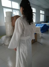 Massage and SPA consumable soft and comfortable PP non woven disposable sauna suits