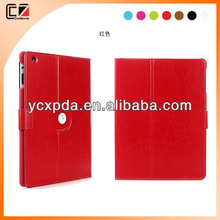 for new apple ipad air rotating leather cover with sleep mode