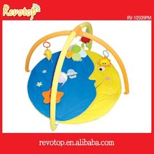 Wholesale alibaba very soft plush baby play mat with sides