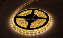 5050 60LEDs/m 5m/rell warm white/cool white led strip IP44 semi-outdoor lighting