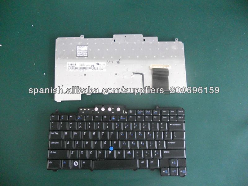 marca de reemplazo portátil teclado portátil original para Dell D620 D630 diseño español
