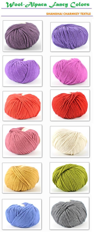 Вязание из 100% шерсти