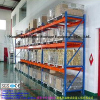Industrial Stackable Storage Wire Mesh Cages with Heavy Duty