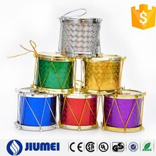 New Products 2015 Multi Color Xmas Drum Decoration