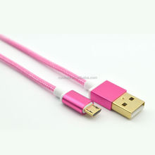 hot selling usb cable ,micro usb cable gold plated for v8 phone