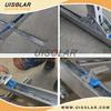 ballasted solar panel frame