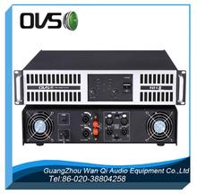 Audio de gama alta profesional amplificador de potencia al aire libre 1000W estéreo