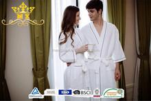 Hotel bathrobes and towel wrap