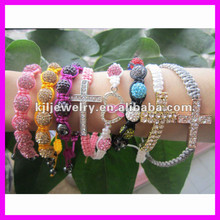 GZKJL-BL0235 pink ribbon hope bracelets, faith bracelets, breast cancer awareness bracelets