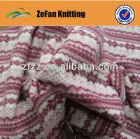 100 polyester printed polar fleece fabric