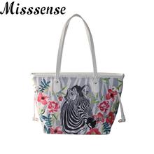 animal print handbag Zebra digital print handbag