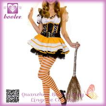 Wicked Witch Candy Corn Traje PP1347 estrenar falda traje de alta calidad