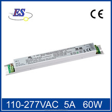 60W AC-DC Constant Current LED Driver with 1-10V Potentionmeter Dimmer