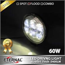 off road 60W driving light motorcycle ATV UTV off road powesports high power led work light