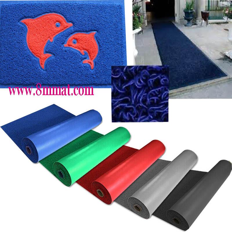 En plastique plancher ext rieur pvc tapis paillasson id de for Peindre plastique exterieur voiture