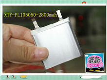CE,Rohs approved AAAA Li-polymer 2800mah 3.7V rechargeable lipo battery for phone