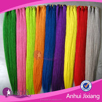 New Multi-colored 100 percent human hair weaving extension,