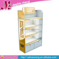 MX-WCM019 High glossy makeup display case, professional makeup display stands for cosmetic retail shop