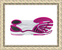 2015 china online shopping shoes outsole tpr material